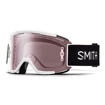 9aee4343a51c4 Smith Squad MTB Mountain Bike Motocross Goggles White white Size One Size