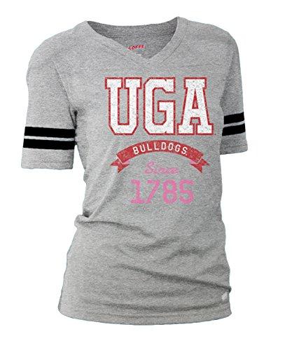 (NCAA Georgia Bulldogs Junior Classic Collegiate Logo Football T-Shirt, Medium)