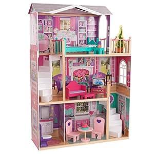 Kidkraft elegant 18 doll manor toys games - Maison de poupee hello kitty ...