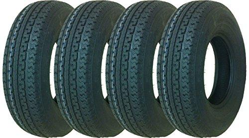 4 New Premium Sure Trac Trailer Tires ST235/85R16 Radial 12PR Load Range F- 11090 by Sure Trac (Image #1)