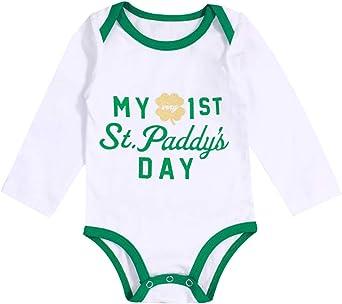 Carters Baby Boy My 1st First St Paddy/'s Patrick/'s Day Size Newborn Bodysuit