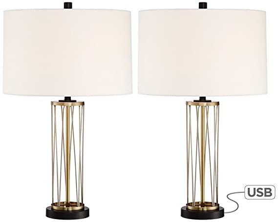 white of gold and safavieh product lighting garden lamp table inch home set kingship