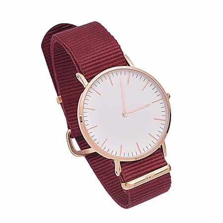 XueXw Reloj De Cuarzo para Mujer Reloj De Correa Simple ...