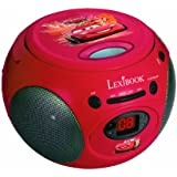 LEXIBOOK- RCD102DC - Radio Lecteur CD Disney Cars