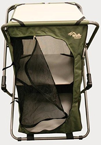 Camping Pop-Up Cupboard with Carry Bag (Foldable)