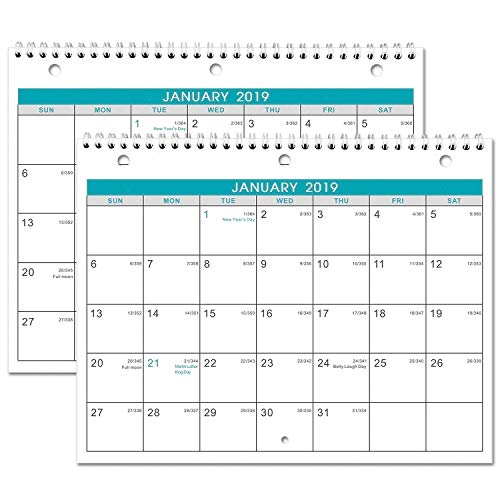 2019 Calendar - 2 Pack Monthly W...
