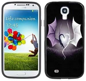 Dragons Heart Medieval Fantasy Handmade Samsung Galaxy S4 Black Bumper Hard Plastic Case