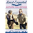 Least Expected: Love in Store Book #2.5 - A sweet and clean Christian romance set in London over Christmas & New Year