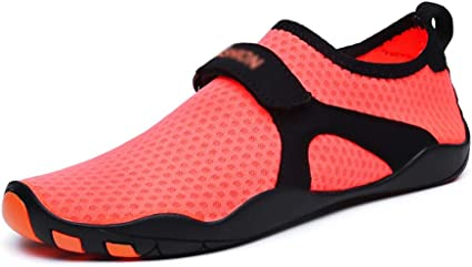 JOMSK Water Shoes Men's and Women's Watersports Beach Swimming Pool  Quick-drying Non-slip Running Shoes for  Swim,Walking,Yoga,Lake,Beach,Garden,Park,Drivi (Color : Red, Size : 39-40):  Amazon.co.uk: Kitchen & Home