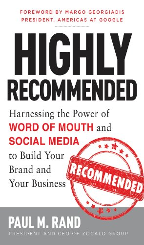 Amazon highly recommended harnessing the power of word of highly recommended harnessing the power of word of mouth and social media to build your fandeluxe Image collections