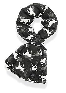 V28® Gorgeous Designer Style Horse Print Scarf, Shawl, Sarong