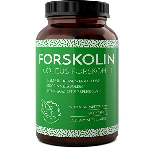 Forskolin Extract For Weight Loss - Enhance Your Workout & Burn Belly Fat With These Forskolin Diet Pills For Men And Women - Pure And Potent Coleus Forskohlii - Boost Testosterone By Natural Vore