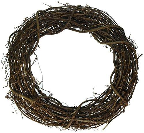 Darice 2802-71 Grapevine Wreath 14'' by Darice