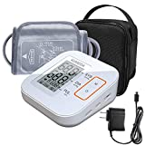 Blood Pressure Monitor,KUMEDA FDA Approved Accurate Automatic Digital Upper Arm Style Blood Monitor with Large Cuff(Fits 8.7'-15.7' Size Standard and Large Arms) Included Carrying Box and AC Adapter