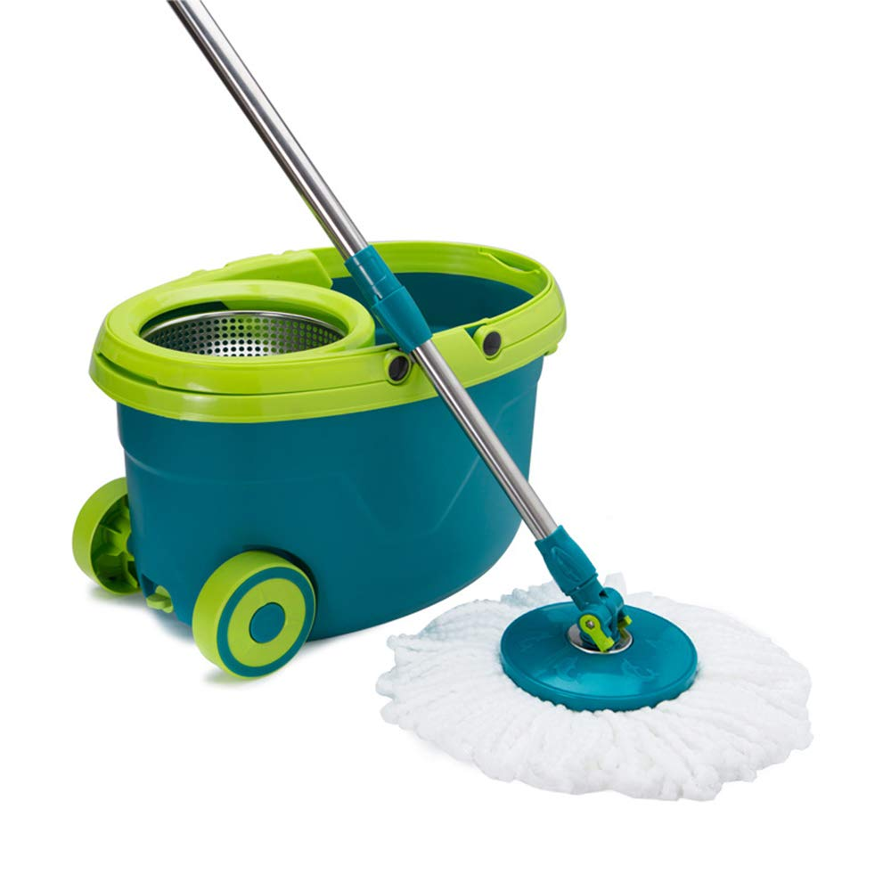 Zhanghaidong Spin Mop Bucket System Stainless Steel 360 Spin Mop Mop Good God Drag Hand Spinning Mop Bucket Cleaning Set 360 Degree Spinning Mop Heads