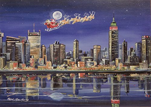 Skyline Christmas Card (