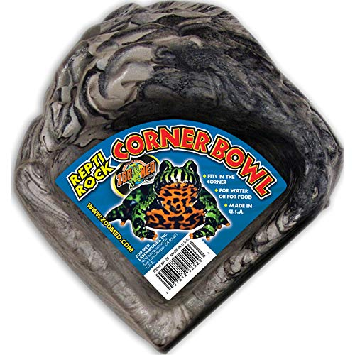 Zoo Med Reptile Rock Corner Water Dish, Small