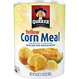 #2: Quaker Yellow Corn Meal, 24 Ounce