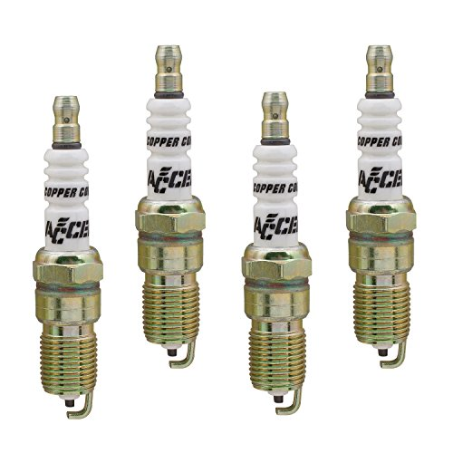 - ACCEL 0526-4 Copper Core Spark Plug, (Pack of 4)