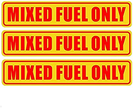 Back Self Adhesive Vinyl 6.25 X 1.25 DIESEL ONLY Sign Label Sticker Decal For Fuel Gas Can Car Vehicle Tank 3 Pack Outdoor//Indoor