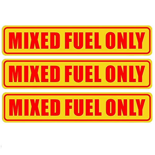 The 10 best mixed fuel only sticker