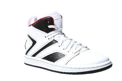 official photos 56a0c 72f59 NIKE Kinder Jordan Flight Legend (GS) Weiß Leder Synthetik Sneaker 36