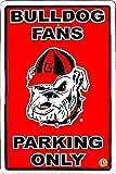 University of Georgia Bulldog Large Parking Sign
