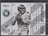 2013 Prestige Matt Barkley Eagles Rookie Football Card #22