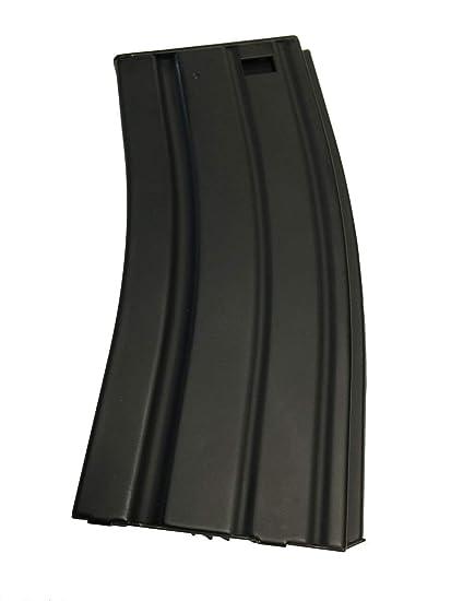 ARSUK Airsoft Revista de plástico de Alta Capacidad M4 / M16, Cargador Negro de Velocidad para pelets BB de 6 mm