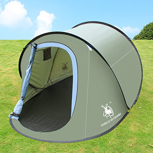 Large Pop Up Tents : Large pop up camping hiking tent automatic instant setup