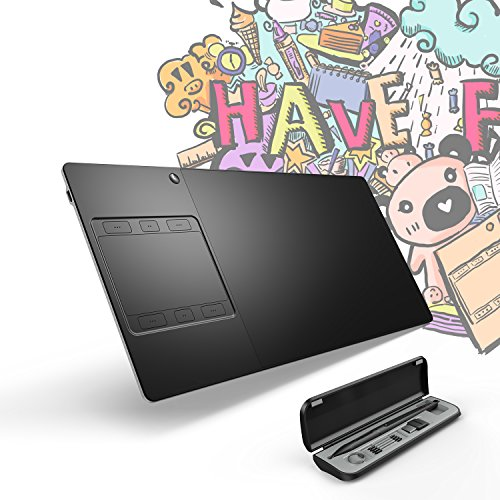 Huion Inspiroy G10T Pen and Touch Wireless Graphic Drawing Tablet with...