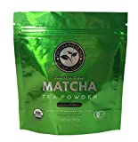 First Harvest Ceremonial Grade Matcha Green Tea Powder – Organic Japanese Matcha – Get More Natural Energy – Green Tea Lattes – Smoothies – Stimulate Metabolism – First Harvest Tea Review