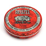 REUZEL Red Pomade, High Sheen, Water Soluble, 4