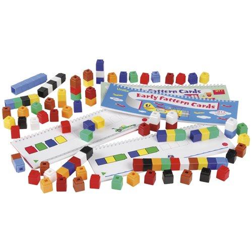 Unifix Pattern (Unifix(R) Pattern Math Card Set For Kids- Full Set)