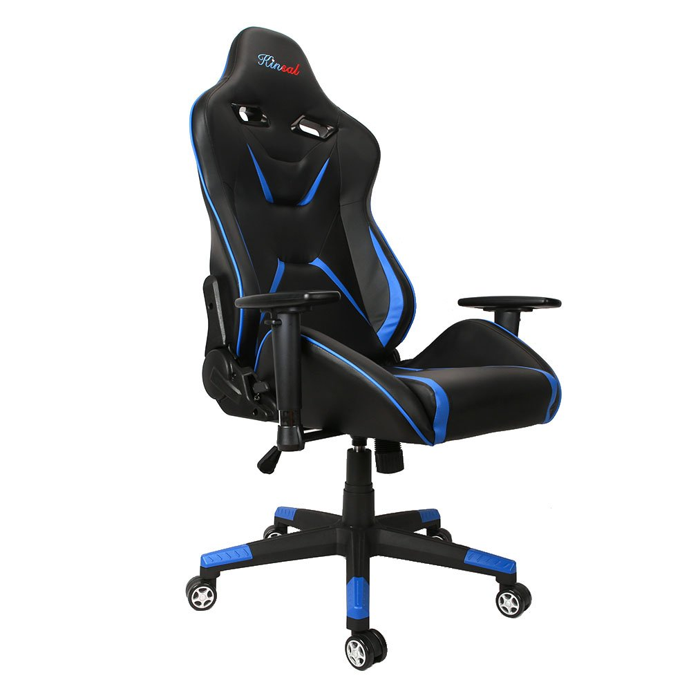 [Upgraded Version] Kinsal Large Size Big and Tall Computer Chair - Gaming Chair High-back - Ergonomic Racing Chair