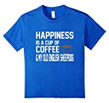 Happiness Coffee Old English Sheepdog Cute T-Shirt