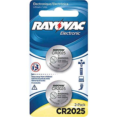 RAYOVAC KECR2025-2A 3V Lithium Keyless Entry Battery