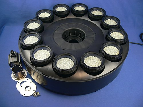 720 LED Floating High Power Fountain Pump and Light Ring, White LED's by Ocean Mist