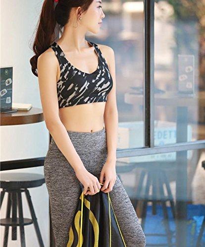 DACHUI La Aptitud del Yoga Mujer Comodidad Plena Cobertura Wireless/Sujetadores Sujetadores Deportivos/Nylon
