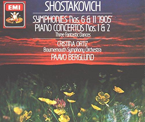 (Dmitri Shostakovich Symphonies 6 + 11, Three Fantastic Dances for piano op 5, Concerto for piano trumpet and strings op 35, Piano Concerto No 2 op 102 (2 CD Box Set) (EMI))