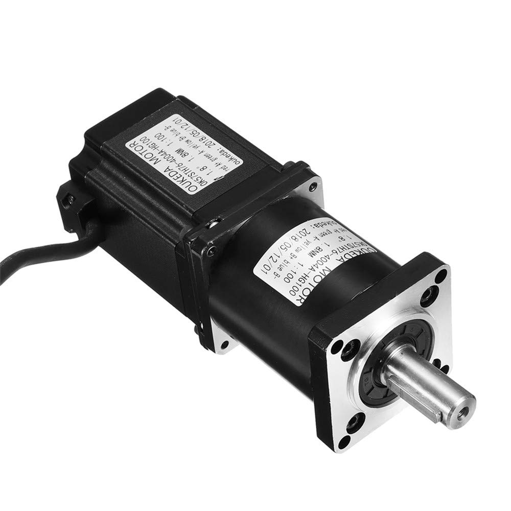 CoCocina Nema23 Planetary Gearbox Stepper Motor Geared Ratio5:1 10:1 20:1 30:1 50:1 100:1-30:1