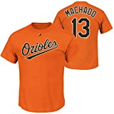 Manny Machado Baltimore Orioles Orange Net Infants Name and Number T Shirt