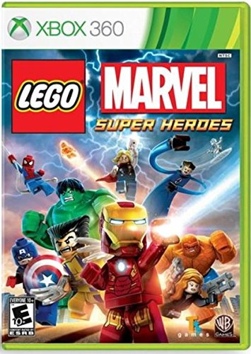 Lego: Marvel Super Heroes, XBOX 360 (Best Wii Games For 7 Year Old Boy)