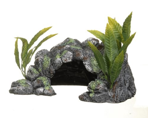 Frog Aquarium Ornament - Marina Decor Polyresin Cave, Large