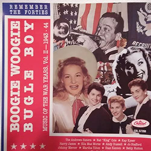 Music of the War Years: 2 NEW 40's Branded goods Volume Remembering