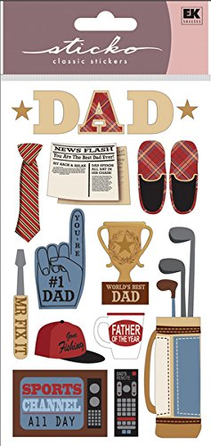Sticko Happy Father's Day Stickers