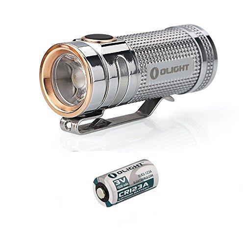 Olight S Mini Baton Titanium S1 mini Ti 550 Lumen neutral wh