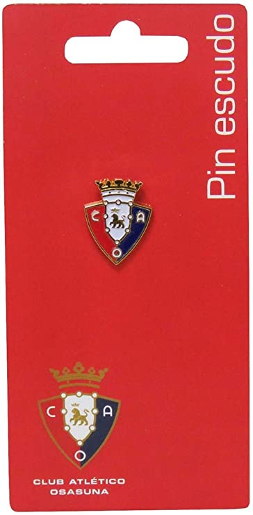 C Y P Pin Escudo Lacado EN Color OSASUNA, (P-14-SA): Amazon.es: Juguetes y juegos