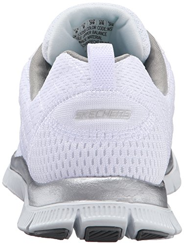 Flex Zapatos Choice Appeal Mujer Blanco Obvious Para Skechers AIFdqI