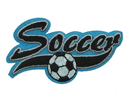 - Soccer Football Small 2 inch patch Ava4060